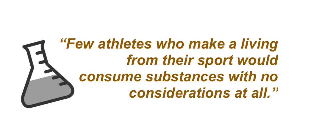 Athletessubstancesconsideration