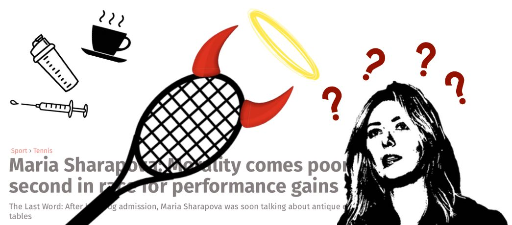 Sharapova performance enhancement